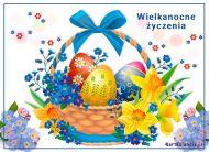 eKartki Wielkanoc Koszyczek wielkanocny,