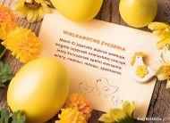 eKartki Wielkanoc Przesyłam życzenia!,