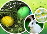 eKartki Wielkanoc W wielkanocnej trawie,