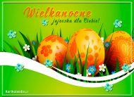 eKartki Wielkanoc Wielkanocne jajeczka,