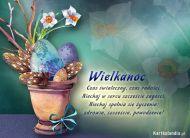 eKartki elektroniczne z tagiem: e-Kartki na ¶wiêta Wielkanocny stroik,