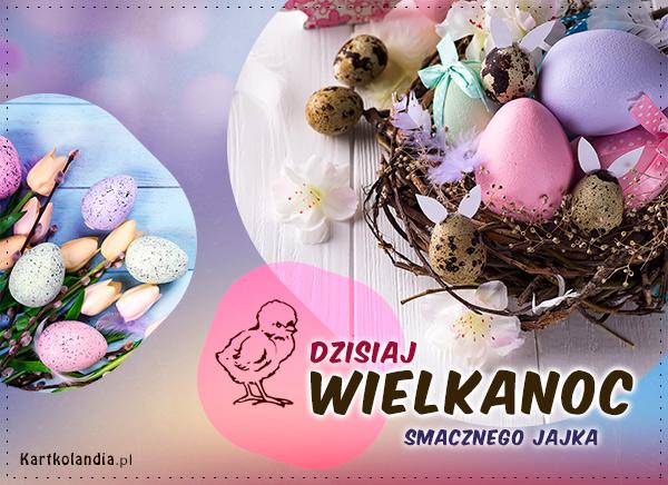 eKartki elektroniczne z tagiem: Kartki z melodią Dzisiaj Wielkanoc,