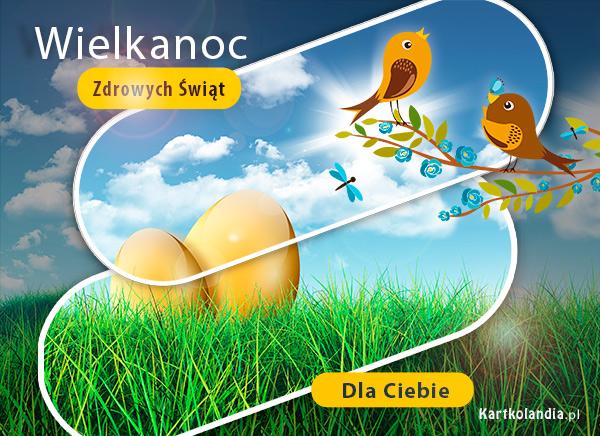eKartki elektroniczne z tagiem: Kartki z melodią Wielkanocne ptaszki,