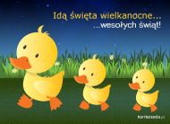 eKartki Wielkanoc Idą święta,