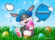 eKartki Wielkanoc Szczęśliwy zajączek,