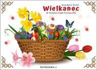 eKartki elektroniczne z tagiem: e-Kartka na Wielkanoc W świątecznym koszyczku,