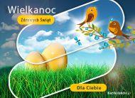eKartki elektroniczne z tagiem: e-Kartki świąteczne Wielkanocne ptaszki,