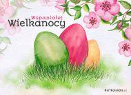 eKartki elektroniczne z tagiem: e-Kartka na Wielkanoc Wspaniałej Wielkanocy,