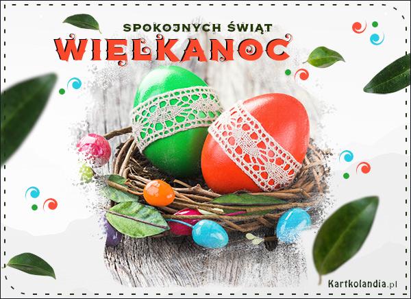 eKartki Wielkanoc Ludowe jajeczka!,