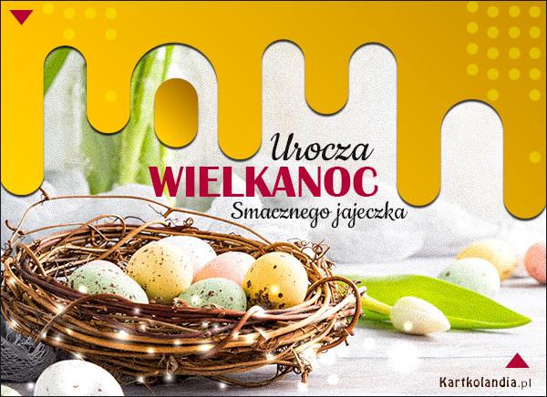 eKartki elektroniczne z tagiem: Tulipan Smacznego jajeczka!,