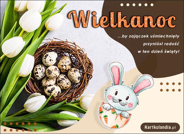eKartki elektroniczne z tagiem: Tulipan Wielkanocna radość!,
