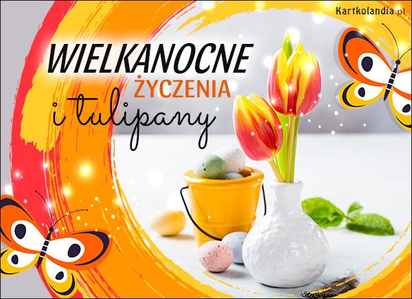eKartki elektroniczne z tagiem: Tulipan Wielkanocne tulipany,