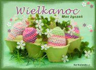 eKartki Wielkanoc Moc wielkanocnych życzeń!,