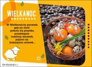 eKartki Wielkanoc W wielkanocny poranek...,