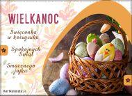 eKartki Wielkanoc Wielkanocna święconka,