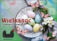 eKartki Wielkanoc Wiosenna wielkanocna kartka,