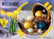 eKartki Wielkanoc Wśród wielkanocnych krokusów,
