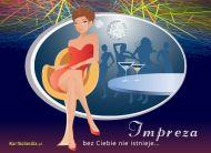 eKartki elektroniczne z tagiem: Zaproszenia na disco Impreza,