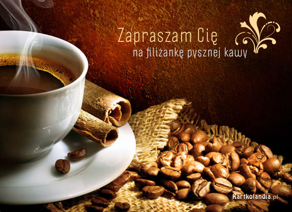Filiżanka pysznej kawy