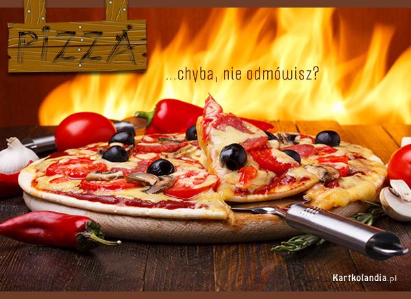 Pizza prosto z pieca