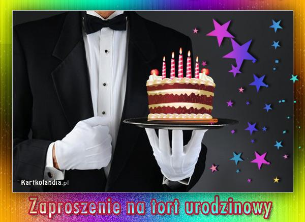 Zapraszam na tort urodzinowy