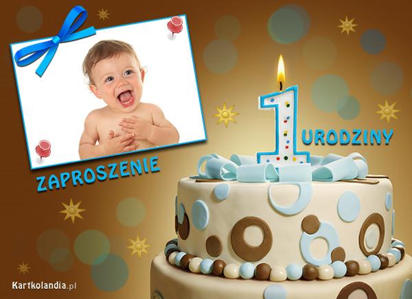 Zaproszenie na 1 urodziny