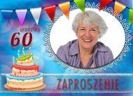 eKartki Zaproszenia 60 urodziny Seniorów,