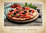 eKartki Zaproszenia Czas na pizzê,