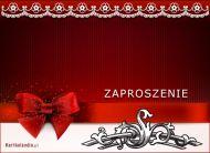 eKartki Zaproszenia Dekoracyjne zaproszenie,