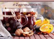 eKartki elektroniczne z tagiem: Herbata kartki elektroniczne Jesienno-zimowe Zaproszenie,