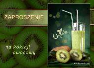 eKartki Zaproszenia Koktajl owocowy,