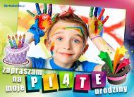 eKartki Zaproszenia Piąte urodziny,