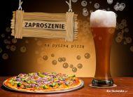 eKartki elektroniczne z tagiem: Zaproszenia na pizzê Pyszna pizza,