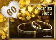 eKartki Zaproszenia 60 Rocznica Ślubu,