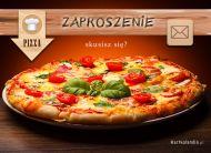 eKartki elektroniczne z tagiem: Zaproszenia na pizzê Skusisz siê?,