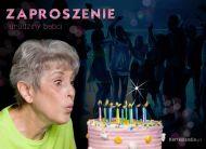 eKartki Zaproszenia Urodziny babci,