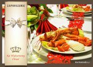 eKartki elektroniczne z tagiem: Zaproszenia na obiad Wykwintny obiad,