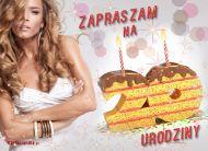 eKartki Zaproszenia Z okazji 20 urodzin,