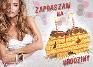eKartki Zaproszenia Z okazji 40 urodzin,