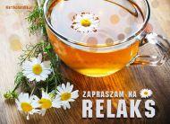 eKartki elektroniczne z tagiem: Herbata kartki elektroniczne Zapraszam na relaks,