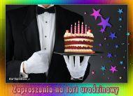 eKartki Zaproszenia Zapraszam na tort urodzinowy,