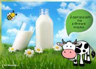 eKartki elektroniczne z tagiem: Zaproszenia na ¶niadanie Zapraszam na zdrowe mleko,
