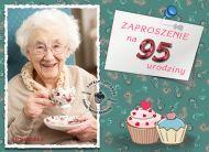 eKartki Zaproszenia Zaproszenie na 95 urodziny,