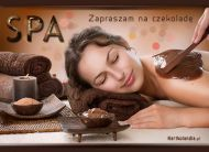 eKartki elektroniczne z tagiem: Relaks Zaproszenie na czekoladę,