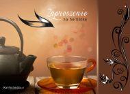 eKartki elektroniczne z tagiem: Herbata Zaproszenie na herbatkê,