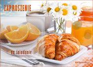 eKartki Zaproszenia Zaproszenie na śniadanie,