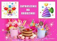 eKartki Zaproszenia Zaproszenie na urodzinki,