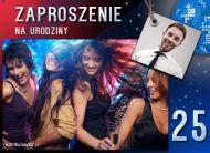 eKartki Zaproszenia Zaproszenie urodzinowe 25,