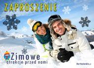 eKartki elektroniczne z tagiem: Zaproszenia na relaks Zimowe atrakcje,
