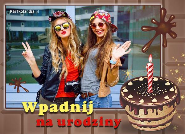 eKartki elektroniczne z tagiem: Kartki elektroniczne darmo Wpadnij na urodziny!,
